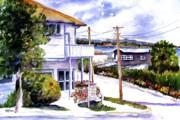 Pacific City Paintings - Sidney Gallery by Marti Green
