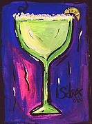 Margarita Paintings - SidzArt Pop Art Series 2002 Margarita Baby by Sidra Myers