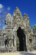 Siem Reap Metal Prints - Siem Reap, Angkor Thom Metal Print by Gloria & Richard Maschmeyer - Printscapes
