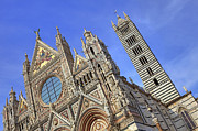 Church Posters - Siena - cathedral Poster by Joana Kruse