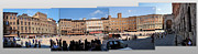 Siena Italy - Piazza Del Campo Print by Gregory Dyer