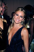 Sienna Photo Framed Prints - Sienna Miller At Arrivals For Part 2 - Framed Print by Everett