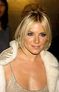 Updo Photo Posters - Sienna Miller In Attendance For Ck Poster by Everett