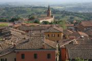 Siena Prints - Sienna Rooftops Print by Tom Reynen