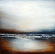 Oceanscape Paintings - Sienna Shore by Christine Deckert