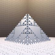 Walter Oliver Neal - Sierpinski Pyramid