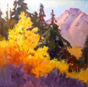 National Park Paintings - Sierra Brilliance by Susan F Greaves