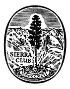 Late Drawings Posters - Sierra Club Seal Poster by Granger
