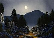 Paths Originals - Sierra Moonrise by Frank Wilson