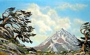 Pacific Crest Trail Paintings - Sierra Warriors by Frank Wilson