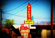 Route66 Prints - Siesta Motel on Route 66  Print by Susanne Van Hulst
