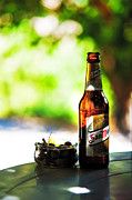 San Miguel Photos - Siesta Time. Beer and Olives by Jenny Rainbow