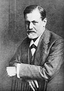 Freud Photos - Sigmund Freud 1856-1939, At Age 45 by Everett