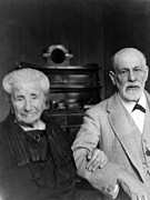 Freud Photos - Sigmund Freud 1856-1939 by Everett