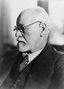 Freud Prints - Sigmund Freud 1856-1939, In The 1930s Print by Everett