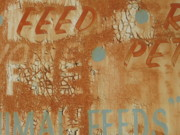 Collectible Mixed Media - Sign ABSTRACT by Billy Tucker