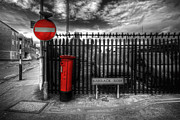 Post Box Framed Prints - Sign Sealed Delivered Framed Print by Yhun Suarez