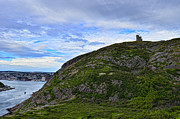 Historic Site Framed Prints - Signal Hill Framed Print by Steve Hurt