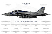 Fa-18 Posters - Signature Series Customized Poster by Clay Greunke