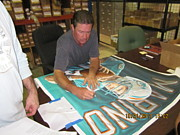 Dan Marino Art - Signed Original SOLD  by Sports Art World Wide John Prince