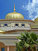 Onion Dome Posters - Sikh Temple Poster by Methune Hively