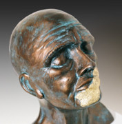 Bust Sculptures - Silence by Dan Woodard