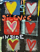 Lil Wayne Prints - Silence Inside Print by Rachel Kice