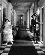 Interior Scene Art - Silent Film Still: Costumes by Granger