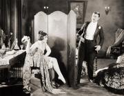 Dressing Room Prints - Silent Film Still: Legs Print by Granger