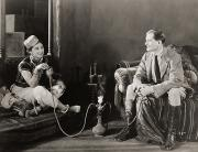 Hookah Posters - Silent Film Still: Smoking Poster by Granger