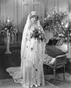 Dolores Photo Prints - Silent Film: Wedding Print by Granger
