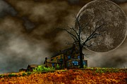 Haunted House Digital Art Metal Prints - Silent Hill 2 Metal Print by Dan Stone