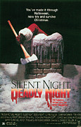 Silent Night Prints - Silent Night, Deadly Night, Poster Art Print by Everett