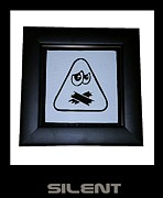 Emoticon Framed Prints - Silent Framed Print by Sirajudeen Kamal Batcha