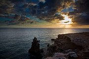 Puerto Rico Photo Prints - Silent Sunset Print by Patrick  Flynn