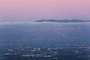 Matt Tilghman Metal Prints - Silicon Valley at Dusk Metal Print by Matt Tilghman