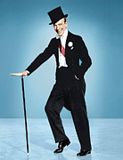 1957 Movies Photo Metal Prints - Silk Stockings, Fred Astaire, 1957 Metal Print by Everett
