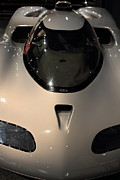 Race Car Photo Posters - Silver 1992 Oldsmobile Aerotech . 7D17293 Poster by Wingsdomain Art and Photography
