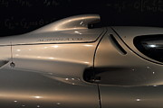 Race Car Photo Posters - Silver 1992 Oldsmobile Aerotech . 7D17295 Poster by Wingsdomain Art and Photography