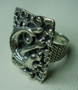 Copy Jewelry - Silver 925 Ring-drago by Jonatan Kor