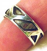 Featured Jewelry - Silver Band Ring by Lynette Fast