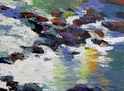 Waterscape Painting Posters - Silver Creek no. 6 Poster by Melody Cleary