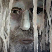 Diana Prickett Prints - Silver Dreads Print by Diana Prickett