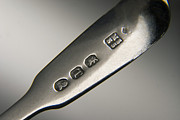 Sterling Silver Art - Silver Hallmarks, 1814 by Sheila Terry