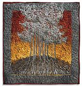 Roots Tapestries - Textiles - Silver Maple by Lorraine Roy