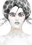 Make-up Prints - Silver  Print by Yosi Cupano