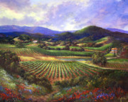 Wine Country Originals - Silverado Valley Blooms by Gail Salituri