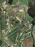 Formula Car Photos - Silverstone Race Track, Aerial Image by Getmapping Plc