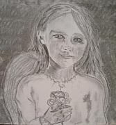 Angels Drawings Originals - Silvia by J Bauer