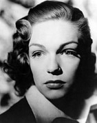 Portraits Posters - Simone Signoret, 1940s Poster by Everett